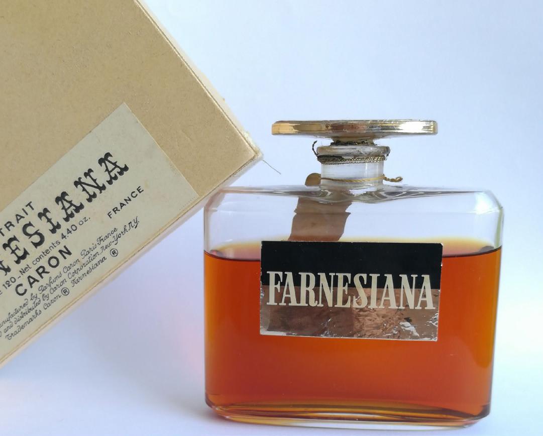 Flacon Farnesiana