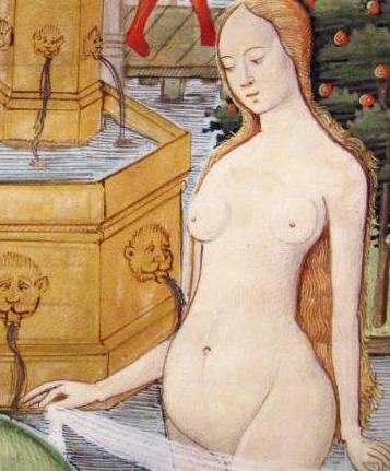 Les bains en Europe à la Renaissance