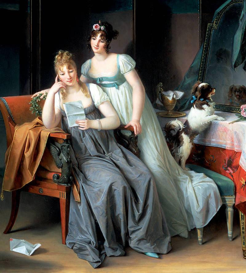 La peinture selon Marguerite Gérard